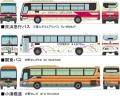 トミーテック 1/150 ザ・バスコレクション 東京国際空港(HND)バスセットA