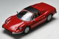 トミカリミテッドヴィンテージ 1/64 フェラーリ ディーノ 246GTS (赤)
