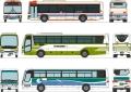 トミーテック 1/150 ザ・バスコレクション 広島バスセンターセットD