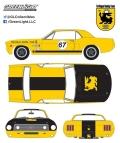 グリーンライト 1/64 1967 Ford Terlingua Continuation Mustang #67 Jerry Titus & Ken Miles - Racing Tribute Edition