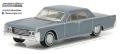 [予約]グリーンライト 1/64 1965 Lincoln Continental - Madison Gray Metallic
