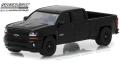 [予約]グリーンライト 1/64 2018 シボレー シルバラード 1500 Z71 Crew Cab Midnight Edition New York Official Pace Car