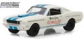 "グリーンライト 1/64 1965 Shelby GT-350 - Reynolds Ford ""Super Horse"" driven by Mike Gray New York Official Pace Car"