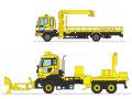 [予約]トミーテック 1/150 ザ・トラックコレクション 東名高速道路全線開通50周年 NEXCO中日本道路作業車2台セット