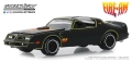 "グリーンライト 1/64 1977 Pontiac Firebird ""Fire Am"" by Very Special Equipment (VSE) - Black with Hood Bird"