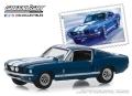 """グリーンライト 1/64 Turtle Wax Ad Cars - 1965 Shelby GT350 """"Wax Before You Ride"""""""