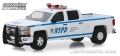 [予約]グリーンライト 1/64 2015 Chevrolet Silverado - New York City Police Dept (NYPD)