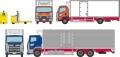 トミーテック 1/150 ザ・トラックコレクション 豊洲 冷凍トラック・ターレット式場内運搬車セット