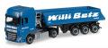 "herpa Cars&Trucks 1/87 DAF XF SSC Euro 6ダンプセミトレーラー ""Willi Betz"""