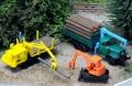 トミーテック 1/150 ザ・トラックコレクション 原木運搬セット