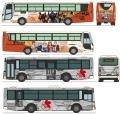 [予約]トミーテック 1/150 ザ・バスコレクション小田急箱根高速バス エヴァンゲリオンラッピング2台セット