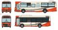[予約]トミーテック 1/150 ザ・バスコレクション 北鉄グループ統合記念 北鉄加賀バス・北鉄白山バス2台セット