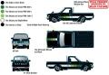 [予約]M2 Machines 1/64 1978 ダットサン トラック (カスタム) グロスブラック