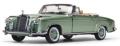 [予約]SunStar(サンスター) 1/18 メルセデス・ベンツ 220 SE オープン コンバーチブル 1958 ライトグリーン