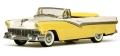 [予約]VITESSE(ビテス)  1/43 フォード フェアレーン オープン コンバーチブル 1956 ゴールデングローイエロー/コロニアルホワイト