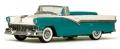 [予約]VITESSE(ビテス)  1/43 フォード フェアレーン オープン コンバーチブル 1956 ピーコックブルー/コロニアルホワイト