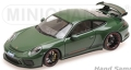 [予約]MINICHAMPS(ミニチャンプス) 1/43 ポルシェ 911 GT3 2017 グリーン