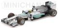 [予約]MINICHAMPS(ミニチャンプス) 1/43 メルセデス AMG ペトロナス F1 チーム W04 ニコ・ロズベルグ USAGP 2013