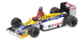 [予約]MINICHAMPS(ミニチャンプス) 1/43 ウィリアムズ ホンダ FW11 ケケ・ロズベルグ ドイツGP 1986 ライド オン ネルソン・ピケ フィギュア付