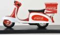 [予約]Motor City Classics(モーターシティクラシックス) 1/12 Coca-Cola ベスパ リアボックス付