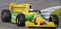 [予約]MINICHAMPS(ミニチャンプス) 1/43 ベネトン フォード B193B ミケーレ・アルボレート バルセロナ テスト 1993年12月15日