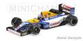 MINICHAMPS (ミニチャンプス) 1/43 ウィリアムズ ルノー FW14B ナイジェル・マンセル ワールドチャンピオン 1992