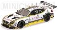 """[予約]MINICHAMPS(ミニチャンプス) 1/43 BMW M6 GT3 """"ROWE RACING"""" MARTIN/ENG/SIMS スパ 24時間 2016 ウィナーズ ※再受注"""