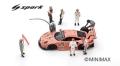 [予約]Spark (スパーク) 1/43 Porsche 911 RSR No.92 Porsche GT Team Winner LMGTE Pro class 24H Le Mans 2018 M. Christensen - K. Estre - L. Vanthoor(モデルカーは含まれていません)