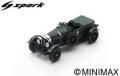 [予約]Spark (スパーク) 1/43 ベントレー Speed Six No.1 Winner 24H ル・マン 1929 W.Barnato/H.Birkin