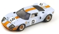 "Spark (スパーク)  1/43 フォード GT 40 No.9 Winner ル・マン 1968 ""40 Years"" P. Rodriguez/L. Bianchi ※再生産"