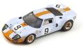 """[予約]Spark (スパーク)  1/43 フォード GT 40 No.9 Winner ル・マン 1968 """"40 Years"""" P. Rodriguez/L. Bianchi ※再生産"""