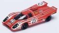 Spark (スパーク) 1/43 ポルシェ 917 K No.23 Winner 24H ル・マン 1970 R.Attwood/H.Herrmann ※再生産