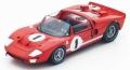 [予約]Spark (スパーク) 1/43 フォード GT-X1 No.1 Winner 12H Sebring 1966 K.Miles/L.Ruby ※再生産