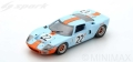 Spark (スパーク)  1/43 フォード GT40 No.22 Winner 12 Hours of Sebring 1969 J.Ickx/J.Oliver