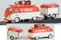 [予約]Motor City Classics(モーターシティクラシックス) 1/43 フォルクスワーゲン コンビ T1 1960 トレーラ付