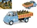 [予約]Schuco(シュコー) 1/18 Isocarro プラットフォーム Transporte de Vino ワイン輸送