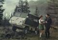 [予約]Schuco(シュコー) 1/18 シュタイア Puch Haflinger 小型全地形対応車