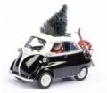 [予約]Schuco(シュコー) 1/43 BMW イセッタ エクスポート クリスマス 2015 荷台&スキー付