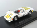 EBBRO (エブロ) 1/43 ★Porsche 906 1967 Japan GP #8 Winner IKUZAWA