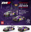[予約]【お1人様5個まで】POP RACE 1/64 Audi R8 LMS エヴァ RT 初号機 TSRT R8 Macau GT Cup 2020 David Chen 綾波レイ RQ フィギュア セット