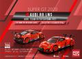 [予約]【お1人様5個まで】POP RACE 1/64 スーパーGT2020 Audi R8 LMS アウディ・チーム・ヒトツヤマ #21