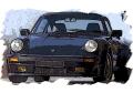 [予約]VISION (ヴィジョン) 1/43 ポルシェ 911(930) ターボ S 1989