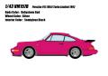 [予約]VISION (ヴィジョン) 1/43 ポルシェ 911(964) ターボ3.3 リミテッド 1992 ルビーストーンレッド
