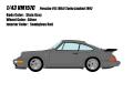 [予約]VISION (ヴィジョン) 1/43 ポルシェ 911(964) ターボ3.3 リミテッド 1992 スレートグレー