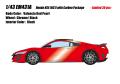 [予約]EIDOLON (アイドロン) 1/43 ホンダ NSX(NC1) カーボンパッケージ 2016 ヴァレンシアレッドパール (インテリア : ブラック) ※限定30台