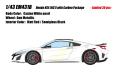 [予約]EIDOLON (アイドロン) 1/43 ホンダ NSX(NC1) カーボンパッケージ 2016 カジノホワイトパール (インテリア : ブラック/レッド) ※限定30台