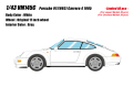 [予約]VISION (ヴィジョン) 1/43 ポルシェ 911 (993) カレラ4 1995 ホワイト (限定40台、国内販売20台)
