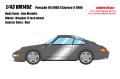 [予約]VISION (ヴィジョン) 1/43 ポルシェ 911 (993) カレラ4 1995 ガンメタリック (限定40台、国内販売20台)
