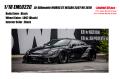 [予約]EIDOLON (アイドロン) 1/18 LB-シルエットワークス GT 35GT-RR ブラック (限定50台、国内販売25台)