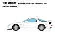 VISION (ヴィジョン) 1/43 マツダ RX-7(FD3S) タイプR バサーストR 2001 ピュアホワイト